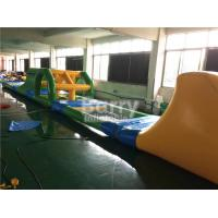 Wholesale Heat Welding Inflatable Water Toys Giant Kids Floating Inflatable Water Obstacle Course from china suppliers