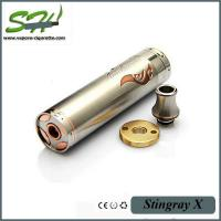 Stingary X Mod Mechanical Mod E Cig Copper Top Cap Wrapped With 304 Stainless Steel