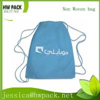 Wholesale blue print string bag from china suppliers