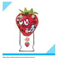 Wholesale New design strawberry promotional desk clock  from china suppliers
