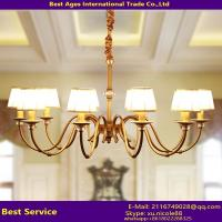 Wholesale Antique brass copper chandelier lighting pendant lamp from china suppliers