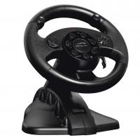 Wholesale FUTIME game steering wheel racing wheel with foot pedal for PC + X-INPUT + P2 + P3 from china suppliers