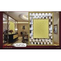 Wholesale 8mm / 6mm Glass Mirror Mosaic Tiles , Square Colored Spell Mirror from china suppliers