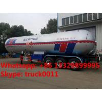 Wholesale factory bottom price China new biggest 61,900Liters lpg gas tank semitrailer, triples BPW/FUWA 26tons lpg gas trailer from china suppliers