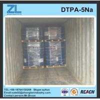 Wholesale Best price light yellow DTPA-5Na liquid from china suppliers