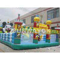 Wholesale Customized Panda Paradise Inflatable Fun City bouncy castle for adults from china suppliers