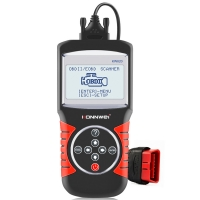 China Auto Diagnostic Tool For 12V Trucks Cars Engine Scanner For OBDII Cars KW820 on sale