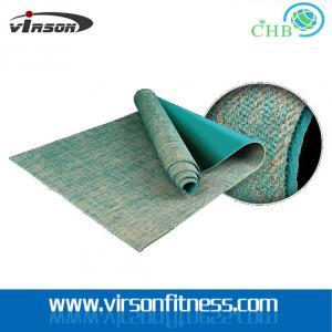 Buy cheap Ningbo virson hot sale natural yoga mat/jute yoga mat from wholesalers