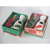 Wholesale Christmas Ceramic Home Tealight Oil Burner Gift Set 16.5cm * 13cm * 7.1cm from china suppliers
