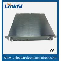Wholesale COFDM Full HD Wireless Transmitter , High Resolution Wireless Video Sender from china suppliers