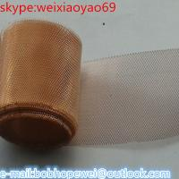 Wholesale (brass/red/phosphor/bronze) copper wire mesh from china suppliers