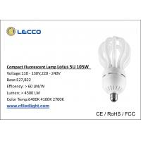 Wholesale 105W T5 Energy Saving Lotus Cfl Bulb 5U 7000K High Lumen For Mid - East Market from china suppliers