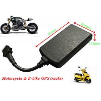 Wholesale Motorcycle GPS Tracker Real Time Car Tracking System Remote Cut Off Petrol / Electricity from china suppliers