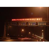 Wholesale Water Proof Programmable Variable Messaging Signs / Electronic Traffic Signs Multi Color from china suppliers