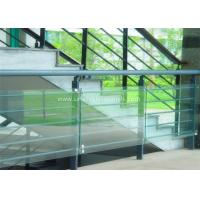 Wholesale Decorative Glass Railing Laminated Safety Glass Grey CE / CSI Approve from china suppliers