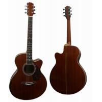 Wholesale Handmade 40 Inch Vintage Steel String Acoustic Guitar With Whole Sapele Body AF40C-S from china suppliers