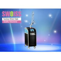 SWOISS Picosecond Laser Machine 500MJ / CM2 For Pigment / Tattoo Removal