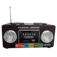 Wholesale LED Light Design Mini Speaker FM Radio Plug-in Card Player #UK-803 from china suppliers