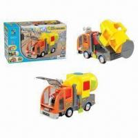 Wholesale B/O Bump and Go Assembling Construction Vehicle Toys, Made of ABS Material, 3AA Battery from china suppliers