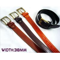 Wholesale cow leather embossing belts high quality from china suppliers