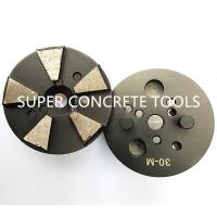 Buy cheap 5 Seg Polar Mag System Diamond Concrete Terrazo Floor Preparation  Grinding Pucks from wholesalers