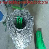 Wholesale Barbed wire length per roll,barbed wire price,barbed wire fencing/barbed wire length per roll with SGS certificate from china suppliers