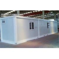 Wholesale PU Sandwich Panel Prefab 40ft Container Warehouse / Mobile Garden or Guard Room from china suppliers
