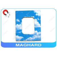 Wholesale 7 x 10 Autograph Fridge Magnetic Photo Frame Design Your Own Blue Sky Printing from china suppliers