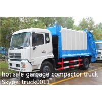 Wholesale Dongfeng 4X2 10tons Compress Garbage/Refuse Compactor Truck, 210hp from china suppliers