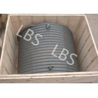 Quality Aluminium Winch Drums with Lebus Grooved Sleeves On Aircraft Application Lifting for sale