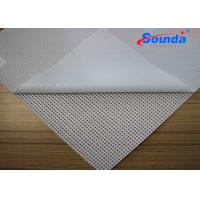 Wholesale Eco Solvent Ink Double Printing Polyester Mesh Fabric for Indoor Advertising Display from china suppliers
