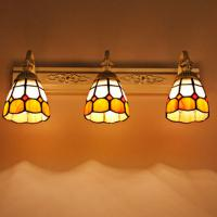 Wholesale ECOBRT Imitation classical style glass lampshade light (JQ7038) from china suppliers
