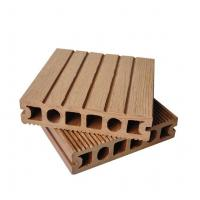 Wholesale Brown Smooth Hollow Composite Decking Floor Less Warping 150mm x 35mm from china suppliers