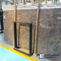 Wholesale Dark Emperador Brown Marble Slab from china suppliers