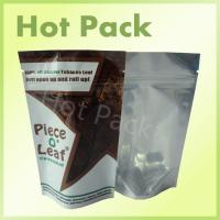 Wholesale 100% All Natural Tobacco Leaf Printed Stand Up Pouch Bags With Pantone Printing from china suppliers