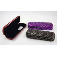 Wholesale Printing Classic Luxury Small Spectacle Cases Polka Dot Designed 160X60X31 mm from china suppliers