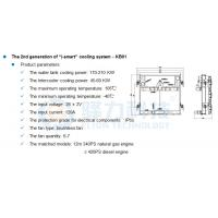 Quality Auto Temperature control cooling system  for City Bus with best price for sale
