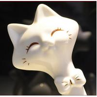 Ceramic cat lovers creative home decoration gift giving white