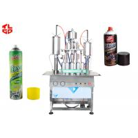 Wholesale Semi Automatic Aerosol Can Filling Equipment from china suppliers