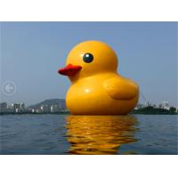 Wholesale Advertising Air Sealed Inflatable Rubber Duck Big Water Floate For Outdoor from china suppliers