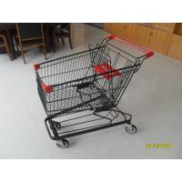 Wholesale 125L Supermarket Shopping Trolley With 4 Swivel Flat Casters 941x562x1001mm from china suppliers