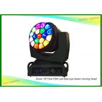Wholesale 19 X 15w Big Led Moving Head Wash Light 200W Total Power For Secondary Stage from china suppliers
