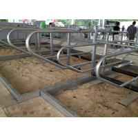 Wholesale 3mm Thickness Galvanized Pipe Cow Free Stall For Dairy Cow Farms from china suppliers