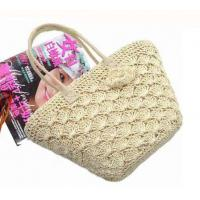 Wholesale Multi-functional Lace straw beach tote bag from china suppliers