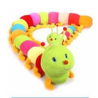 Wholesale Number Caterpillar Plush Cute Baby Toys Colorful Stuffed Kids Playing Learning from china suppliers