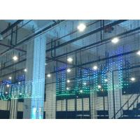 Wholesale Dynamic commercial advertising Flexible LED Display , Led Flexible Panel Lightweight from china suppliers