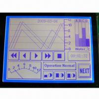 Wholesale 240 x 128-dot Graphic LCD Module with Blue Negative Mode from china suppliers