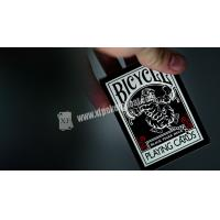 Bicycle Black Tiger Ellusionist Plastic Playing Cards With Invisible Ink Markings