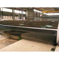 3PE Three Layer Powder Coated Steel Pipe , DIN30670 Coated Gas Pipe Underground for sale