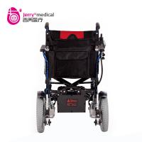 Quality Automatic Outdoor Power Wheelchair Aluminum Alloy Material With Electromagnetic Brake for sale